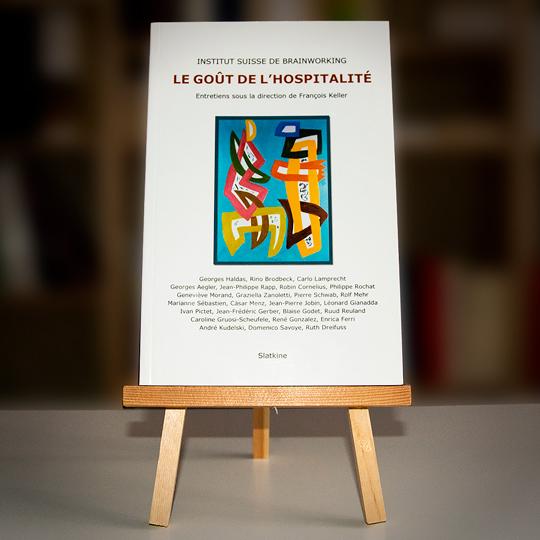 Livre d'entretiens titré «Le goût de l'hospitalité» abordant le thème de l'écriture sous la direction de François Keller